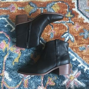 MADEWELL   WESTERN BOOTS IN LEATHER